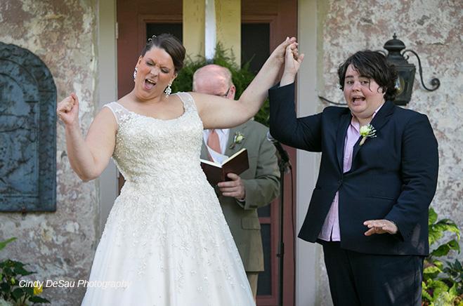 A Very Unique Wedding in Solebury, Bucks County