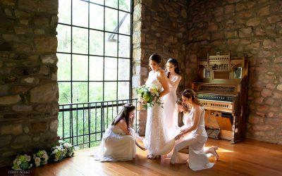 Micro Wedding at HollyHedge Estate